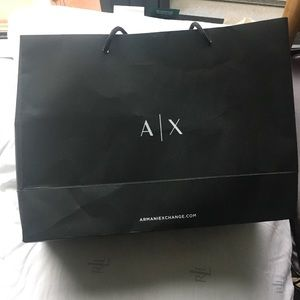 Accessories - Armani Exchange shopping bag